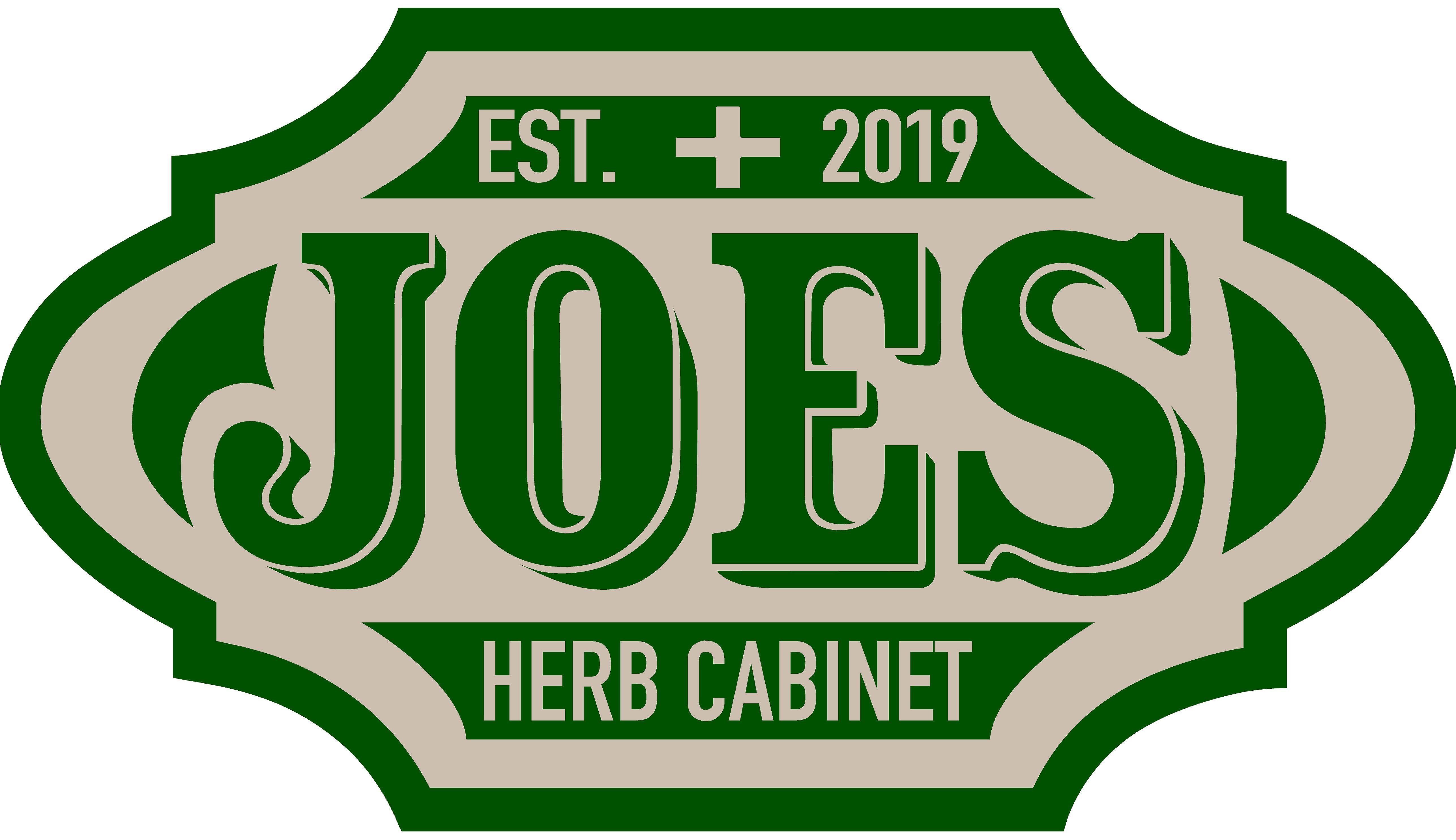 Joe's Herb Cabinet